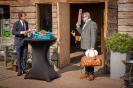 Bedrijfsbezoek moestuin vd Valk met dr. Hans de Graaf