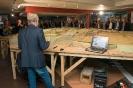 Bedrijfsbezoek theater in aanbouw Dierenpark Emmen op 5 oktober 2015
